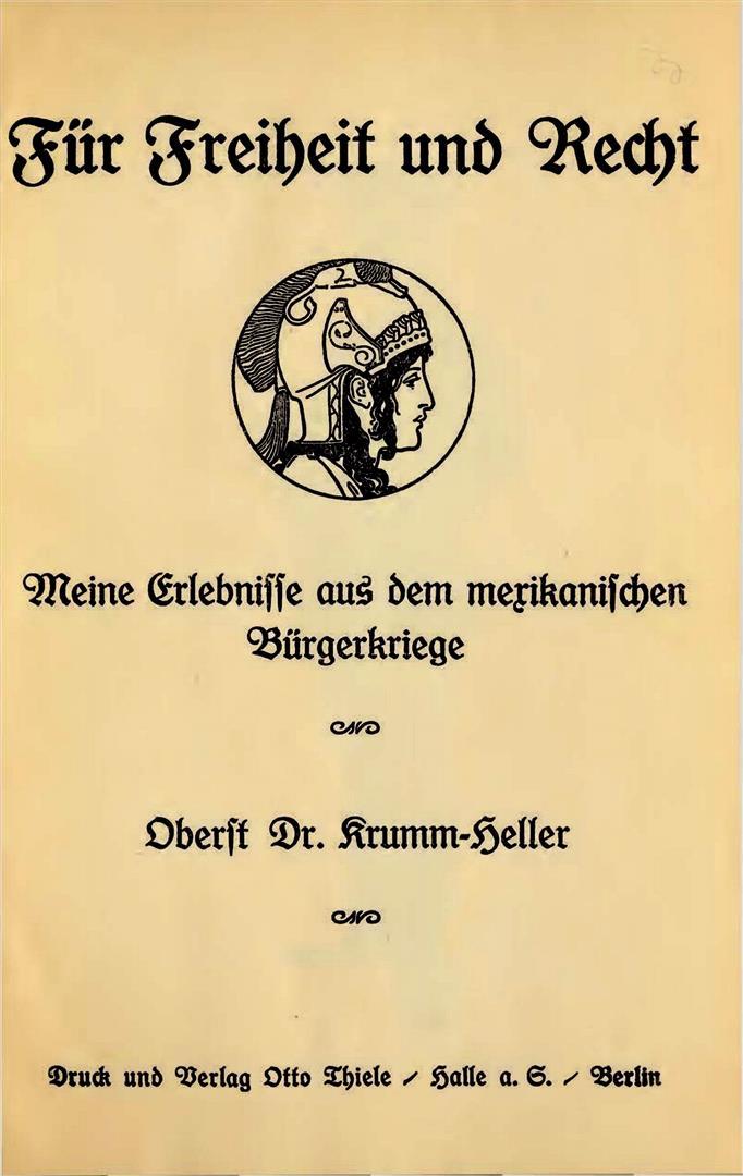 Arnoldo Krumm-Heller Dance the Adolf Hitler Für Freiheit und Recht