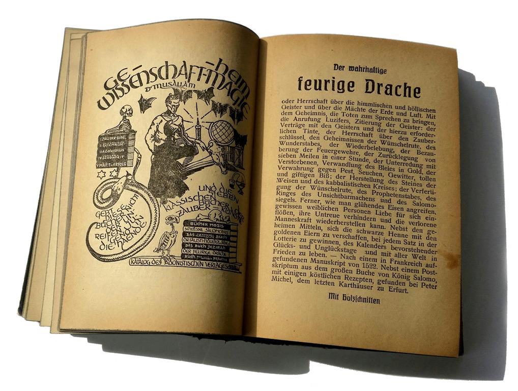 Franz Sättler Dr Musallam Der Wahrhaftige Feurige Drache Adonistischer Verlag