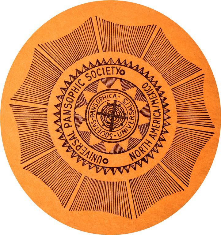 Seal Sigill Siegel Heinrich Traenker Universal Pansophic Society Societas Pansophia Universalis Pansophic Intellectualizer