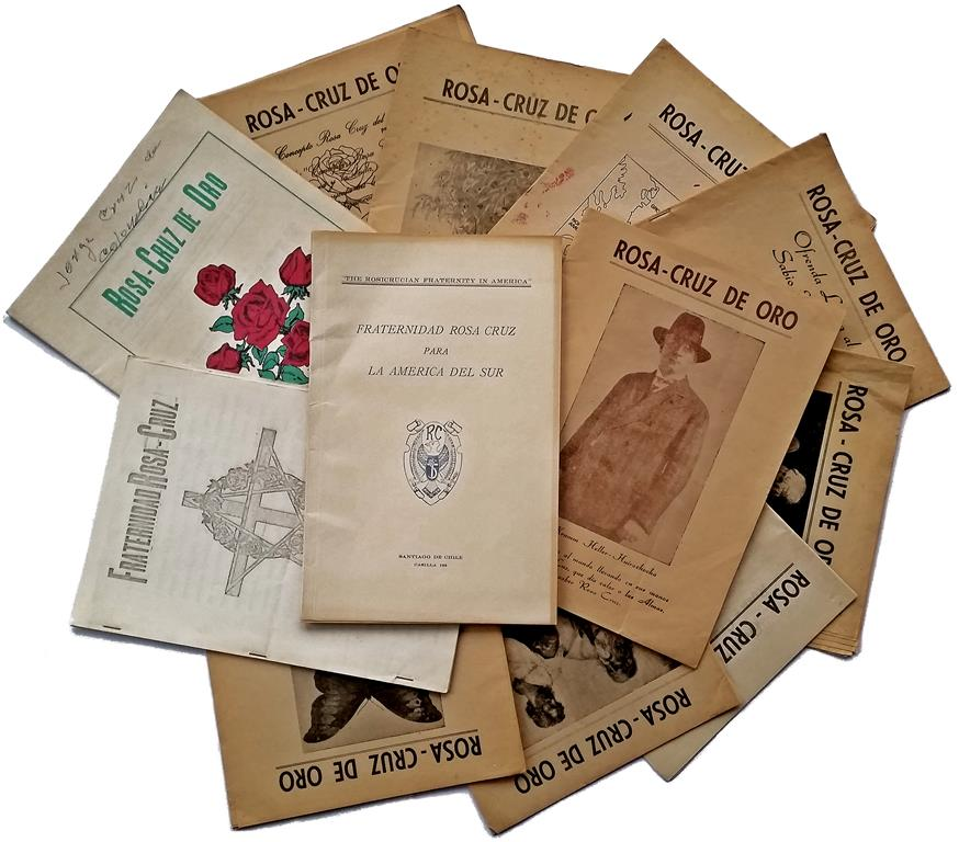 Arnoldo Krumm-Heller Fraternitas Rosicruciana Antiqua Rosa-Cruz de Oro