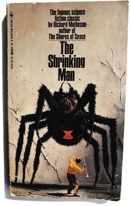 Richard Matheson The Shrinking Man 1969 David Bowie Glass Spider 1987