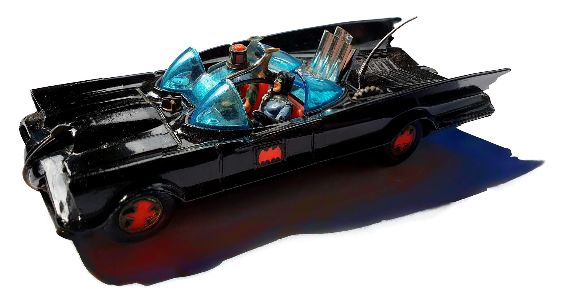 Peter-Robert Koenig My Batmobile - Corgi Diecast Model no. 267 - Issued 1966