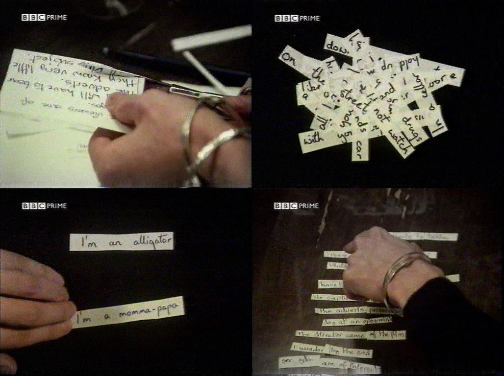 David Bowie cut up automatic writing écriture automatique exquisite corpse cadavre exquis Brion Gysin William S. Burroughs
