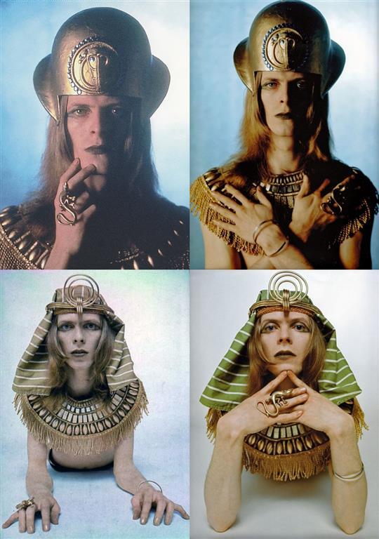 Bowie Sphinx Tutankhamun Brian Ward