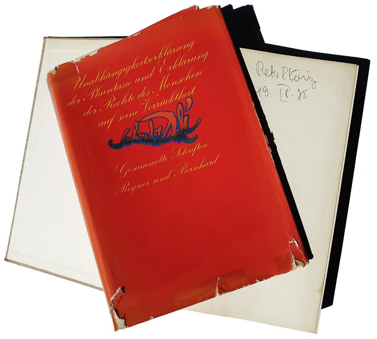 Salvador Dalí, Unabhängigkeitserklärung der Phantasie und Erklärung der Rechte des Menschen auf seine Verrücktheit, Rogner und Bernhard, München 1974