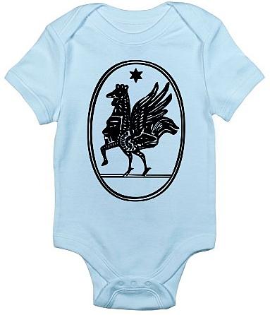 Ordo Templi Orientis Caliphate Body Infant Suit Baphomet