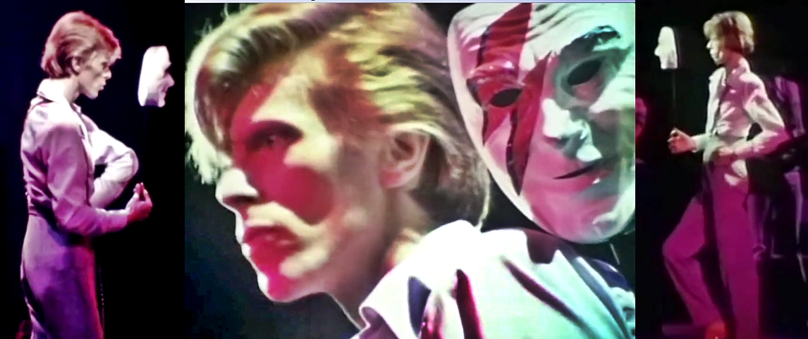 David Bowie 1974 live Mask
