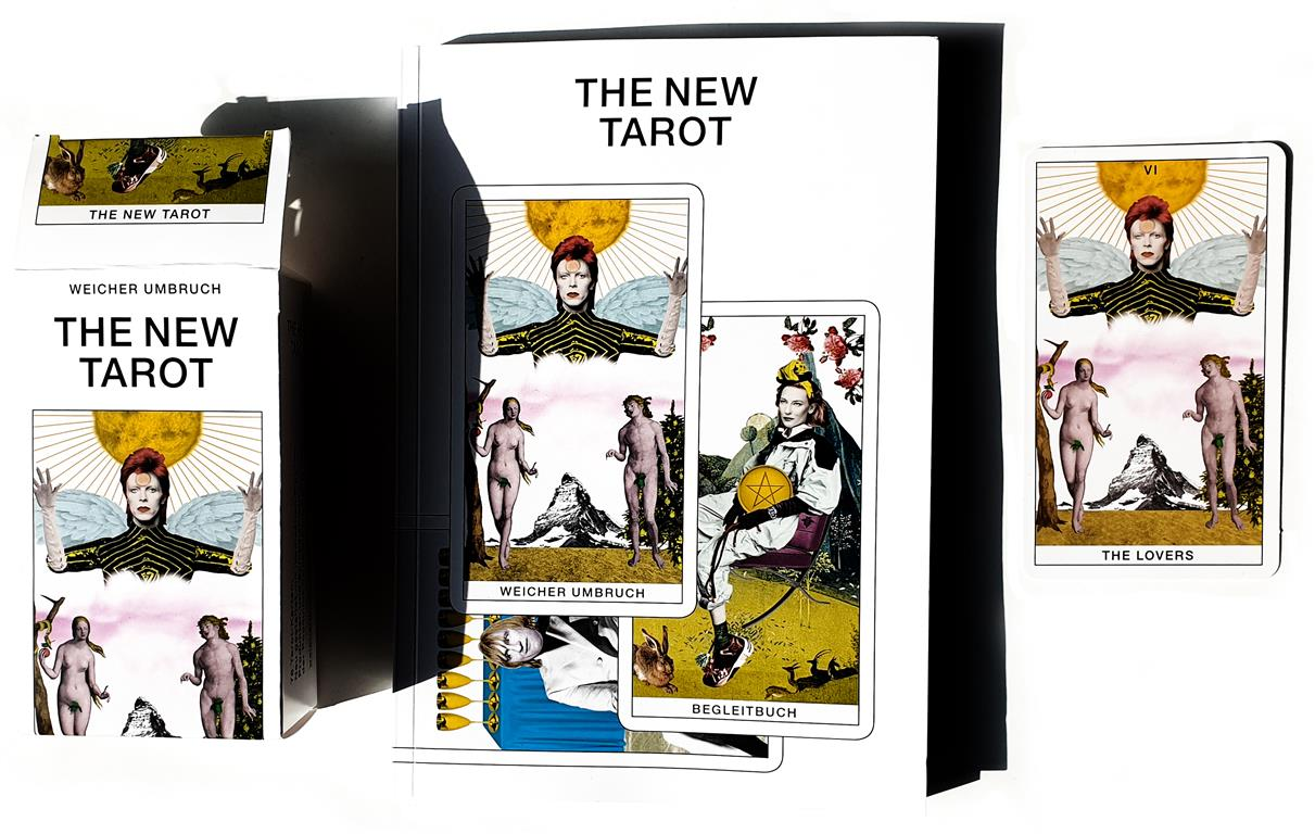 Weicher Umbruch, Andrea Münch, Markus Läubli, The New Tarot, Rider White Tarot, David Bowie, The Lovers. Zürich 2019, weicherumbruch.ch