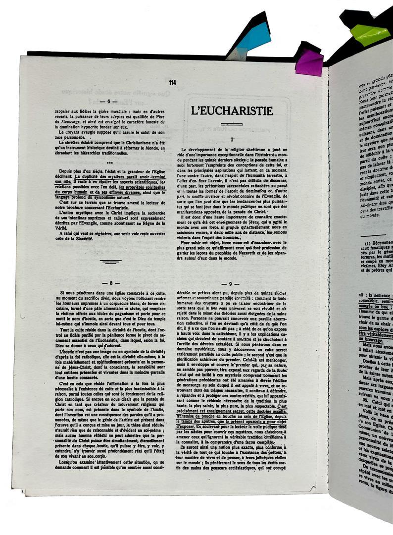 Clément de Saint-Marc L'Eucharistie