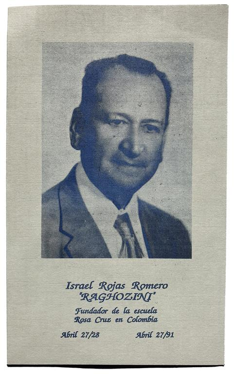 Israel Rojas Romero Fraternitas Rosicruciana Antiqua F.R.A. Colombia Bogota