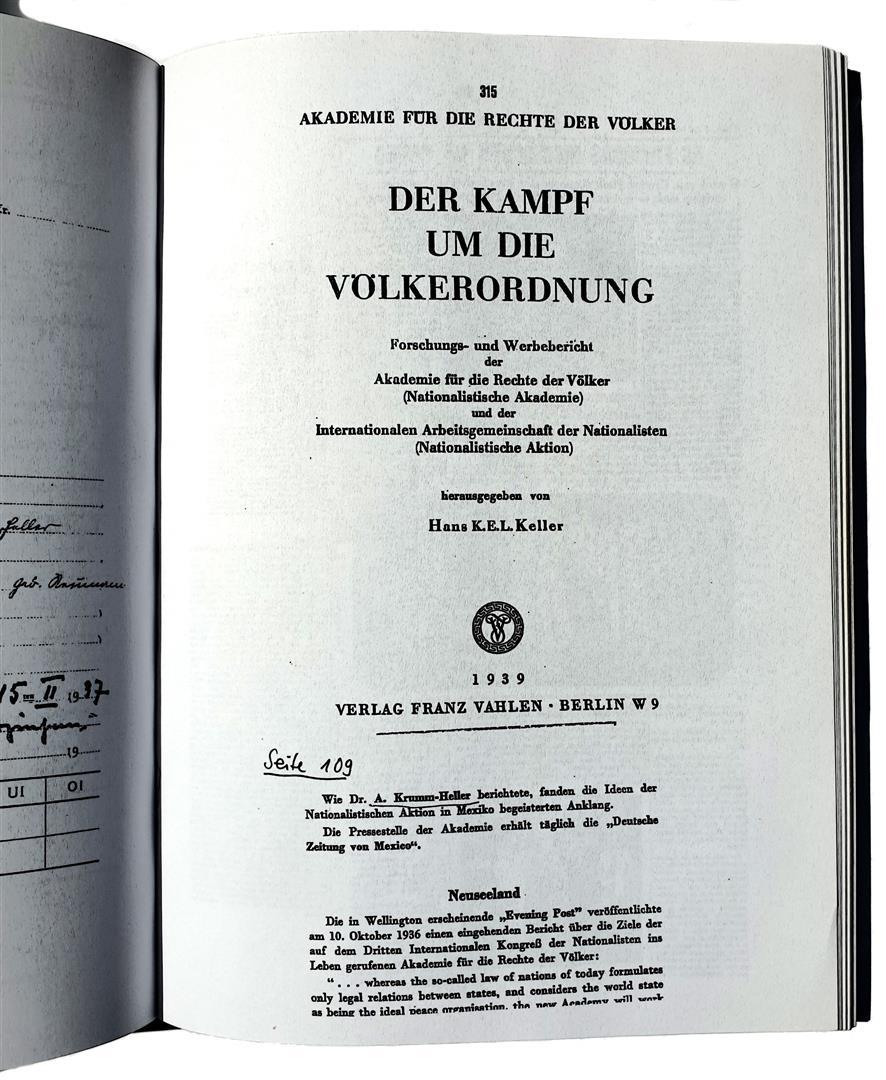 Arnoldo Krumm-Heller Akademie für die Rechte Nationalistische Aktion