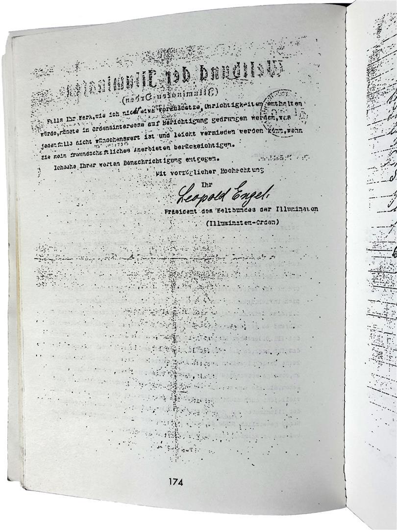 Leopold Engel Weltbund der Illuminaten Eugen Lennhoff Freimaurer-Lexikon