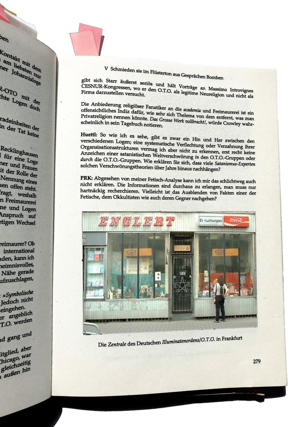 Fraternitas Saturni, Walter Englert, Ordo Templi Orientis, Ordo Illuminatorum, Weltbund der Illuminaten