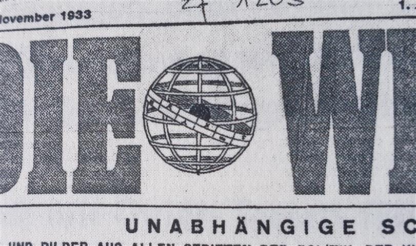 Walter Ilerdegg 1933 Die Weltwoche