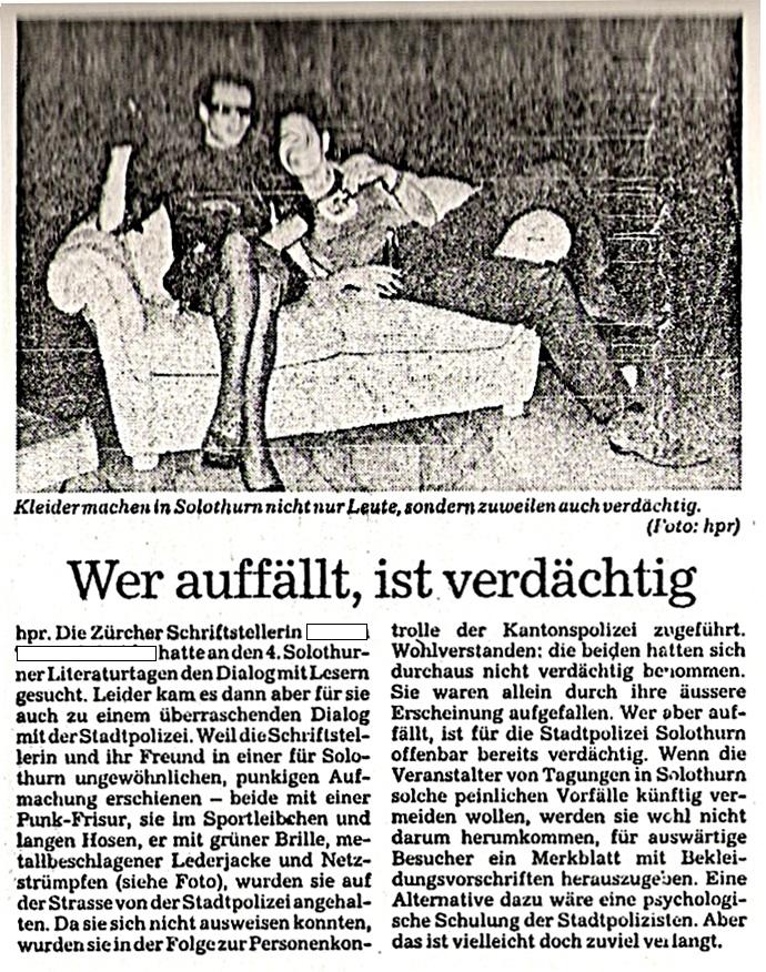 P.R. Koenig arrested, verhaftet