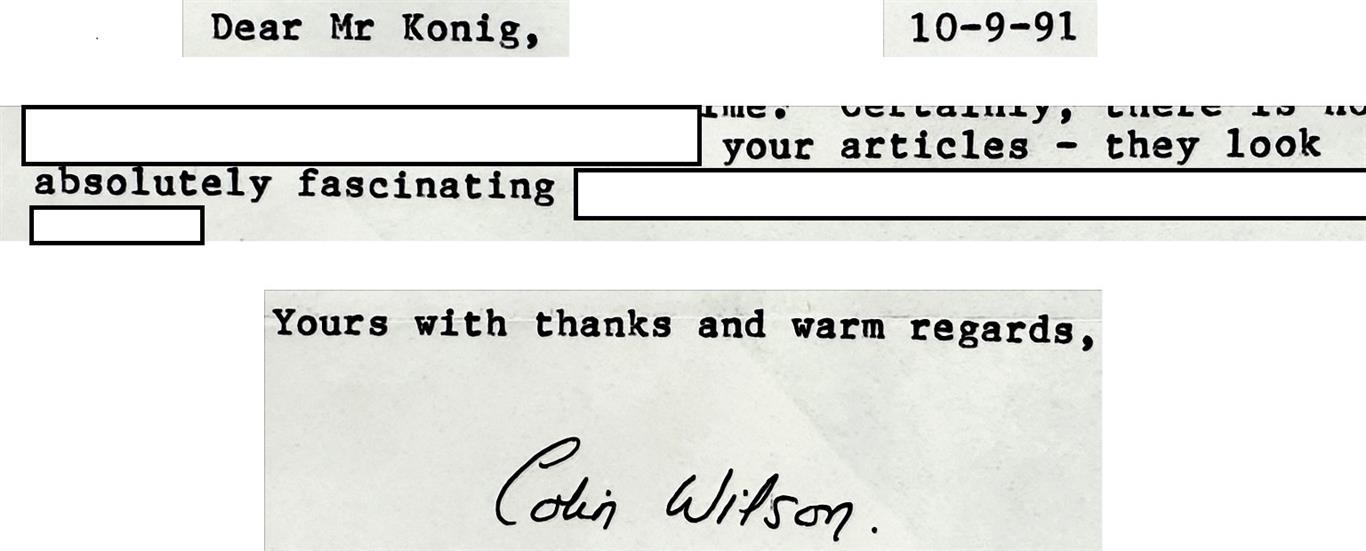 Colin Wilson Peter-Robert Koenig