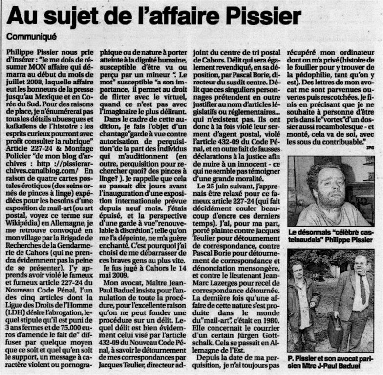 Philippe Pissier Petit Journal