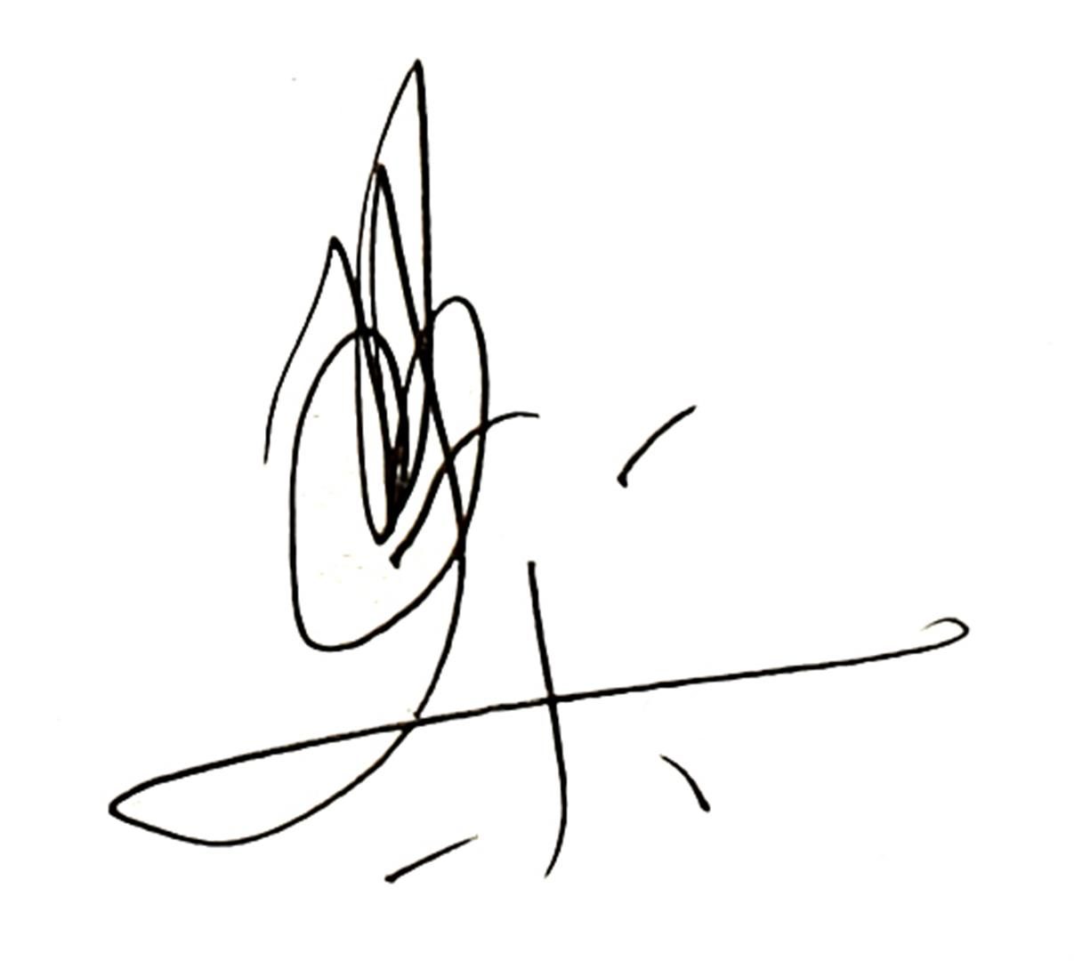 Phillipe Pissier Signature