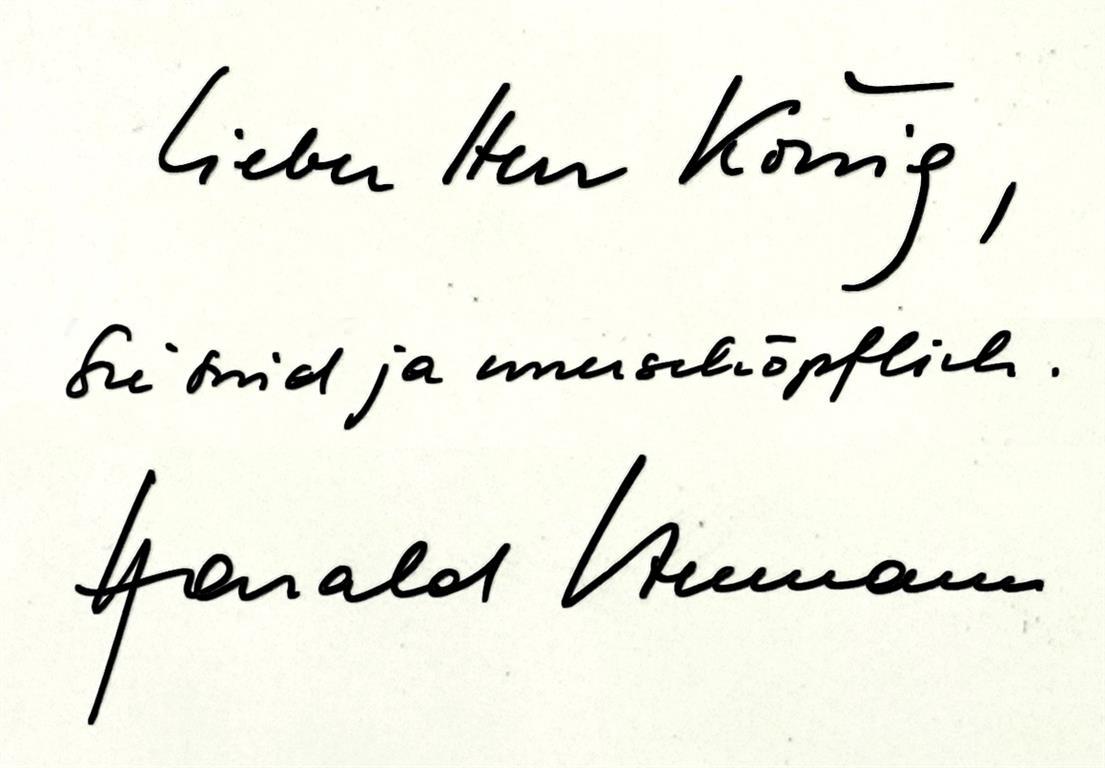 Harald Szeemann Peter-Robert Koenig