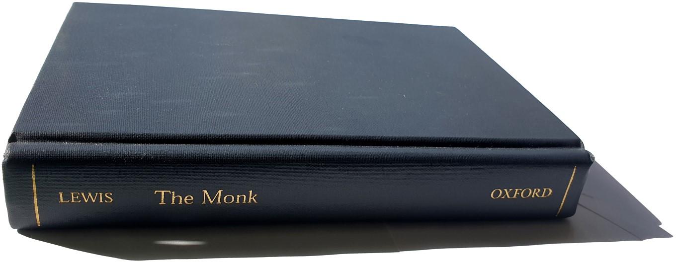 Matthew Gregory Lewis: The Monk, 1796