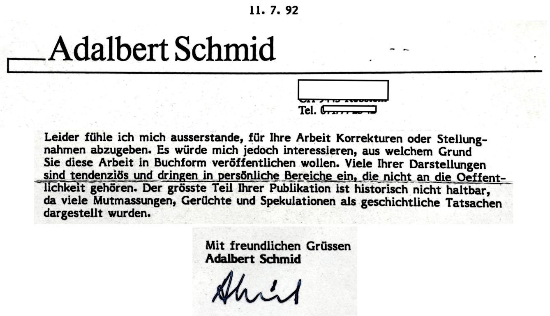 Adalbert Schmid Psychosophische Gesellschaft Stein Appenzell Ordo Templi Orientis Illuminaten Orden P.R. Koenig