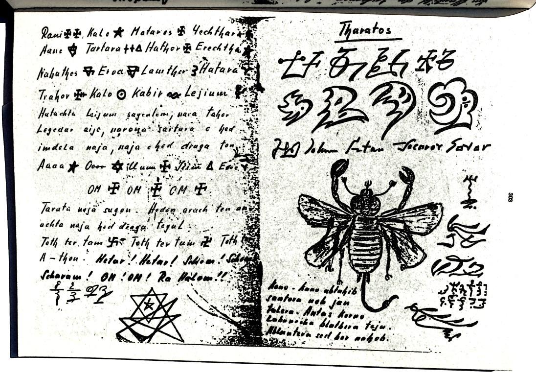 Guido Wolther, Frater Daniel, Fraternitas Saturni - Evokations-Symbole, Luciferische Hierarchie