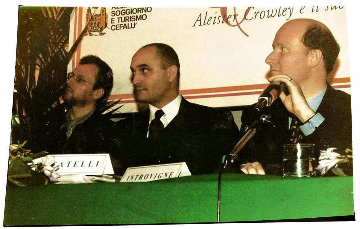 Peter Robert Koenig, PierLuigi Zoccatelli, Massimo Introvigne Aleister Crowley Congress Cefalu