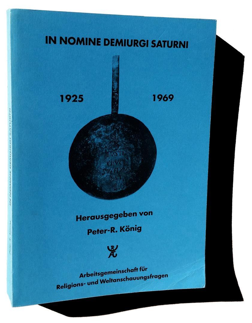 In Nomine Demiurgi Saturni