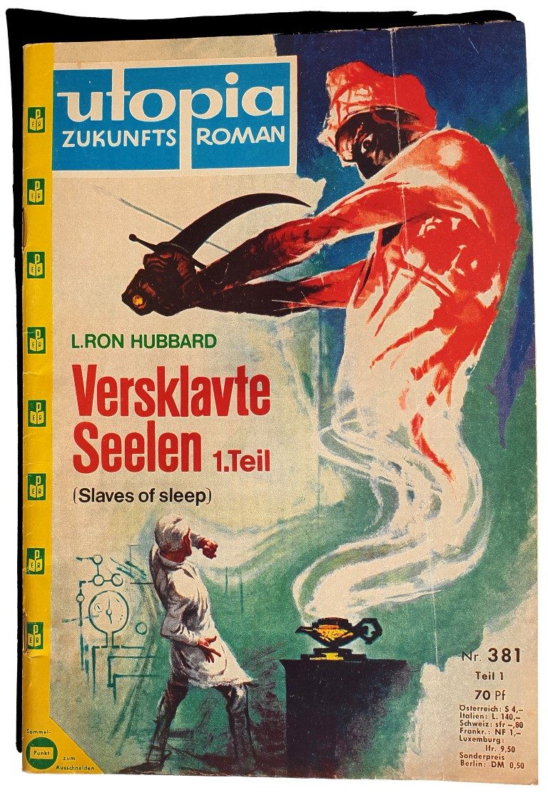 L. Ron Hubbard - Scientology - Versklavte Seelen 1 - Slaves of Sleep - science fiction - fantasy
