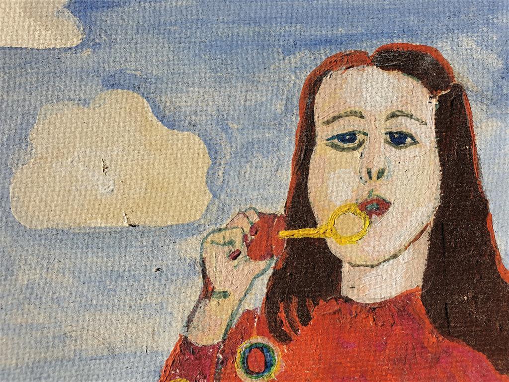 Johannes Maikowski Gemälde Ausschnitt