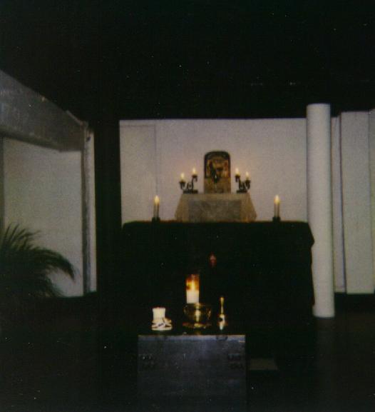 Gnostic Mass altar
