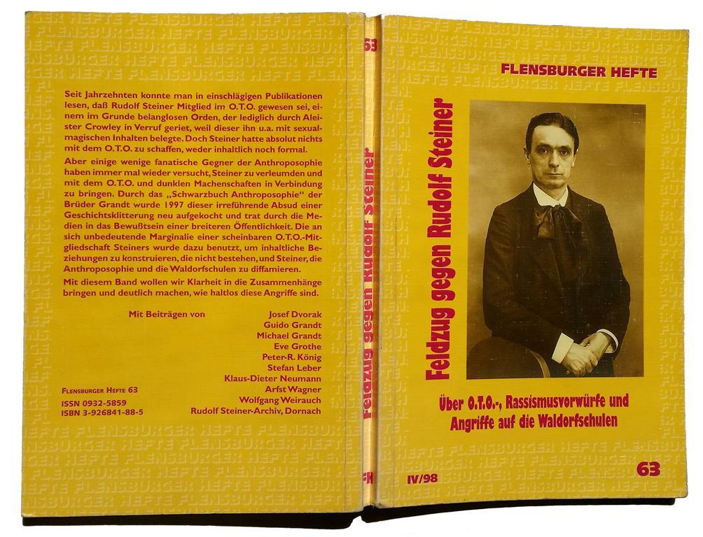 Rudolf Steiner Ordo Templi Orientis Memphis Misraim