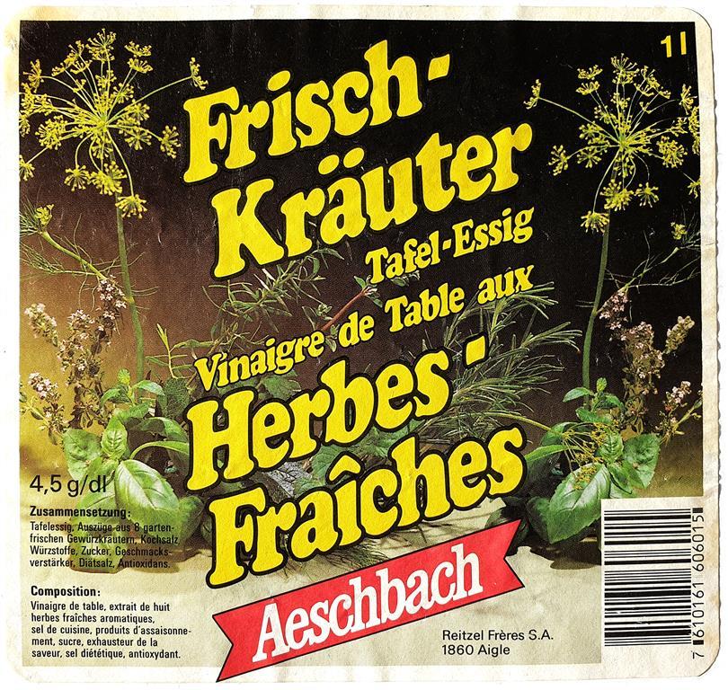 Aeschbach Essig