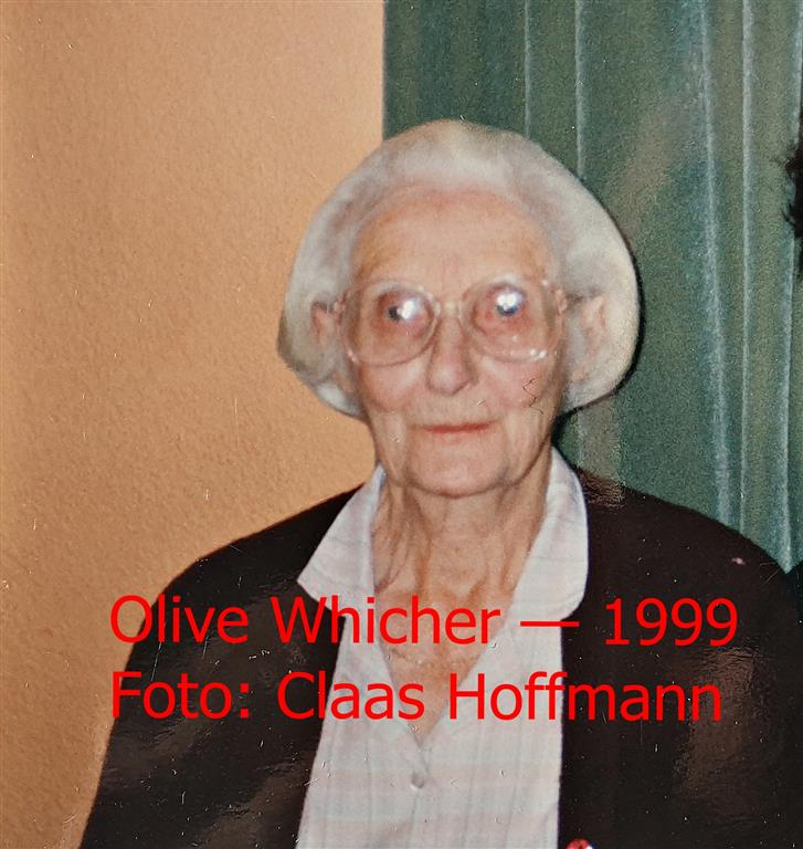 Olive Whicher in 1999