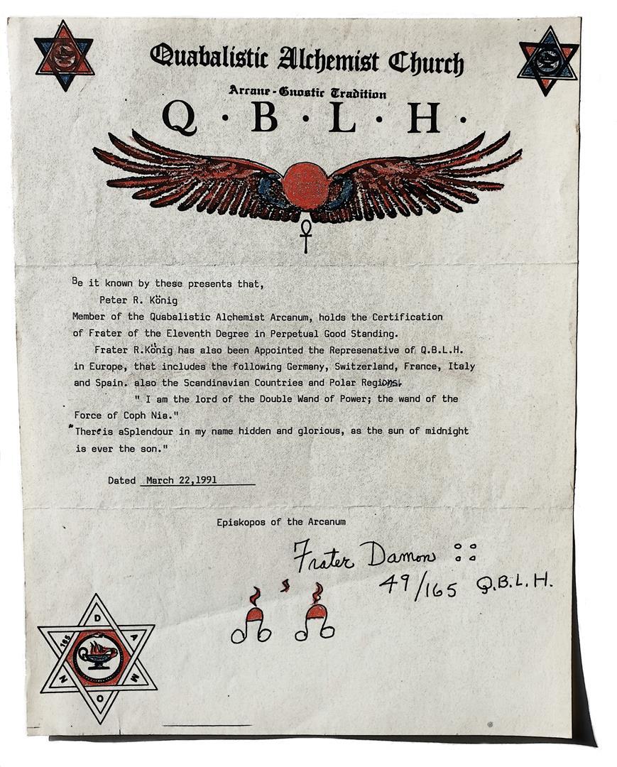 Representative of QBLH, XI°
